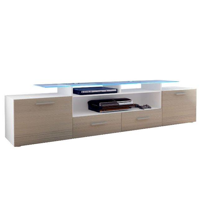 mobile porta tv valentino, soggiorno moderno ed elegante - Mobili Tv Bassi Moderni