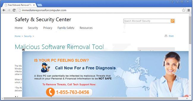 Get Rid Of Immediatereponseforcomputer.com
