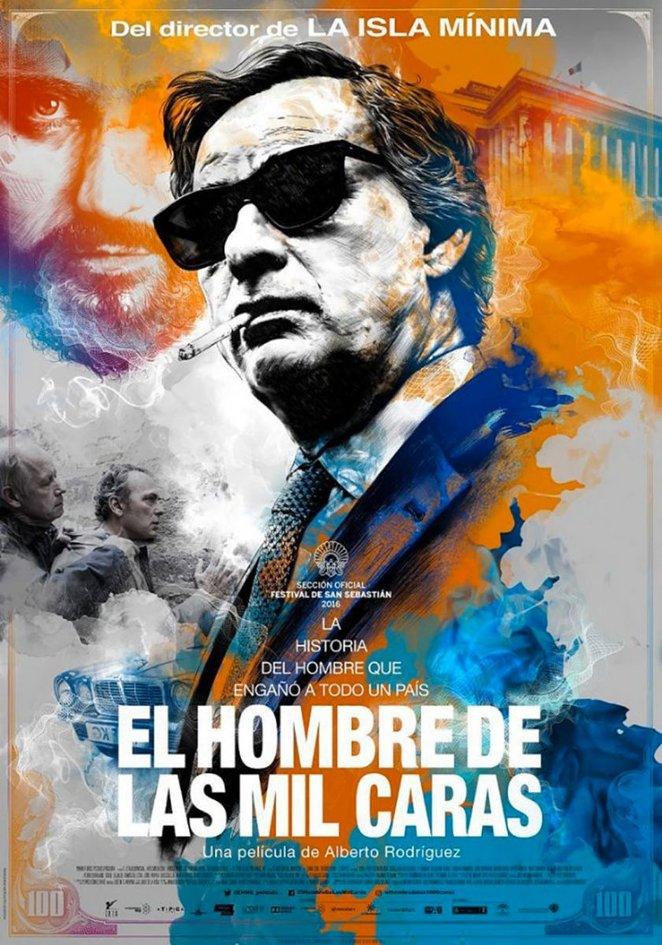 Ο άνθρωπος με τα χίλια πρόσωπα (El hombre de las mil caras) Poster