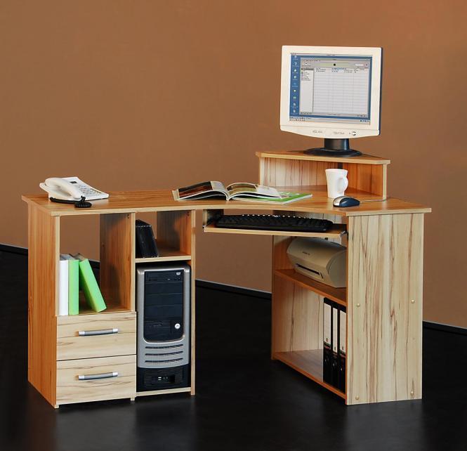 computertisch buche: schreibtische & computermöbel | ebay,