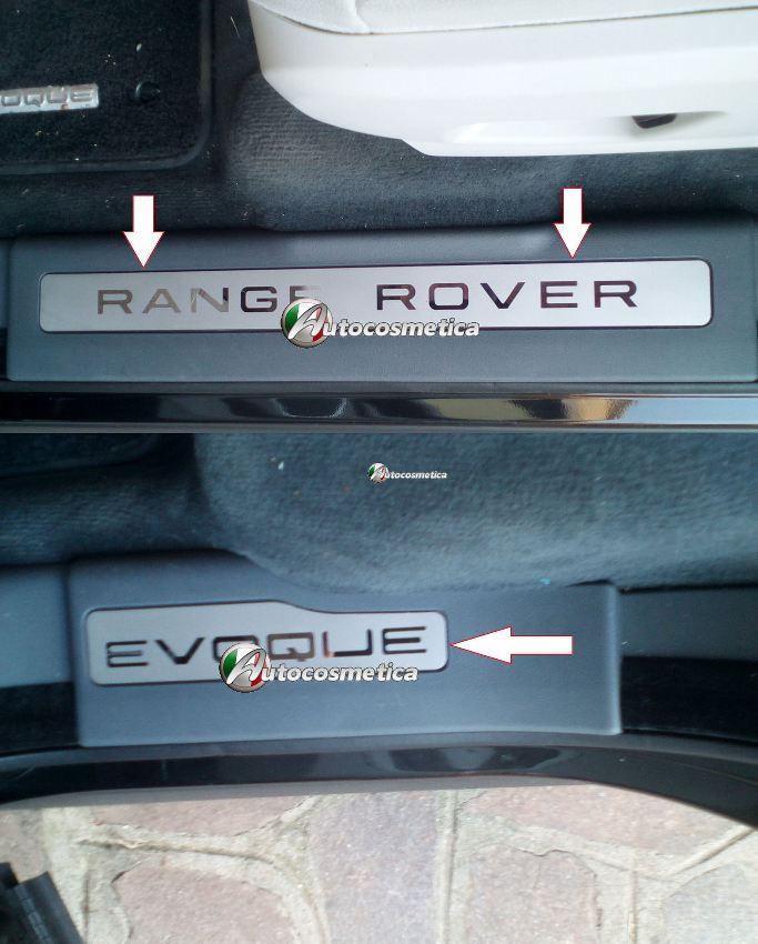 PLATTE RANGE ROVER EVOQUE ED4 SD4 SD DYNAMIC PRESTIGE PURE COUPE SPORT TURBO