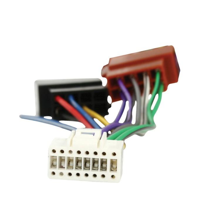 AR 6 CONNETTORE ISO AUTORADIO ALPINE 16 PIN RADIO 7807 7807 R 7816