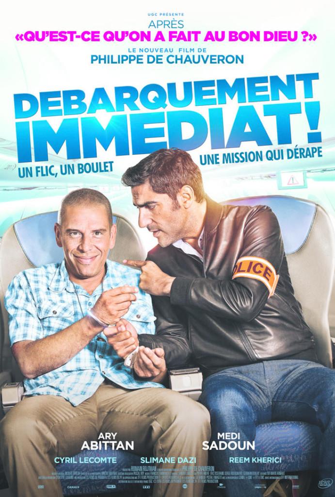 Άμεση Αποβίβαση (Débarquement Immédiat!) Poster