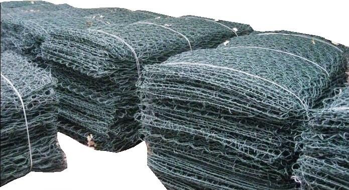 Conf. 50 pz gabbione a scatola rete metallica paramassi zinco ...