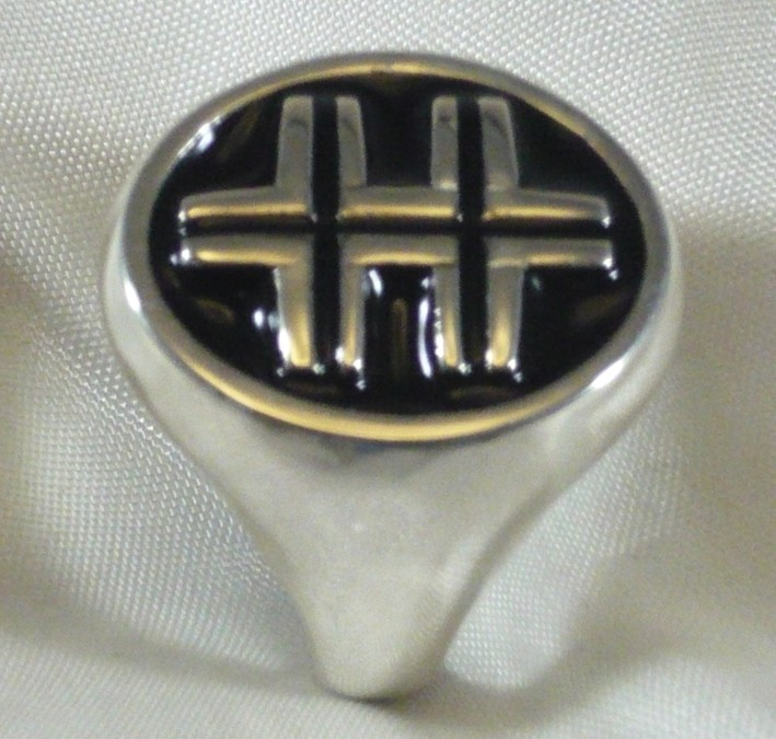 Ring Überqueren Lorena 925 Silber Lothringen Cross Sterling Silver Magnum Pi