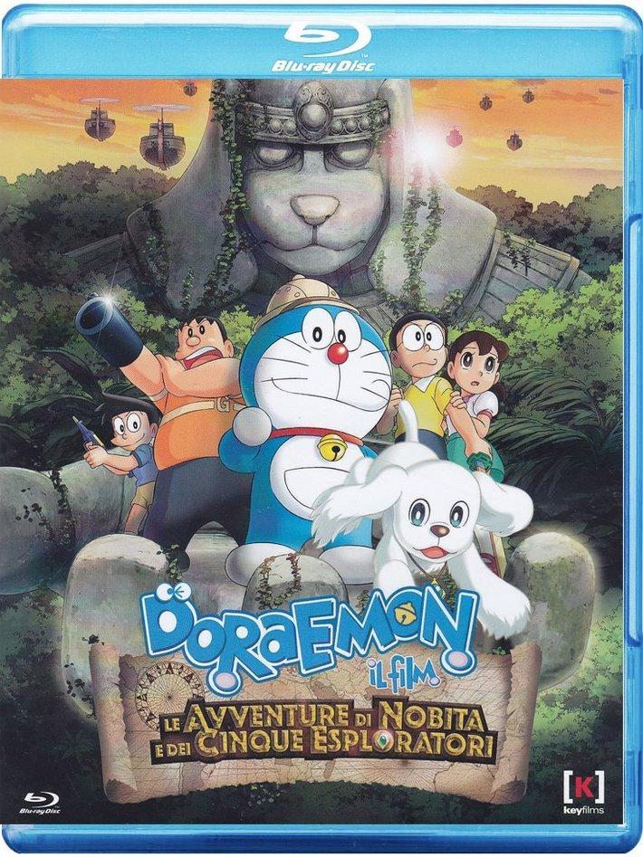 doraemon le avventure di nobita e dei cinque esploratori bluray
