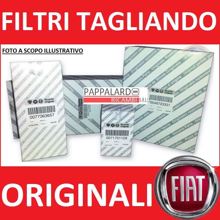 312,319 1.2 BENZINA KIT 4 CANDELE ORIGINALI FIAT PANDA GPL 51KW DAL 2011