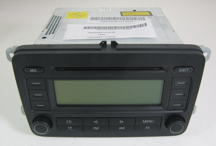 genuine vw golf plus tiguan rcd 300 cd radio stereo head. Black Bedroom Furniture Sets. Home Design Ideas