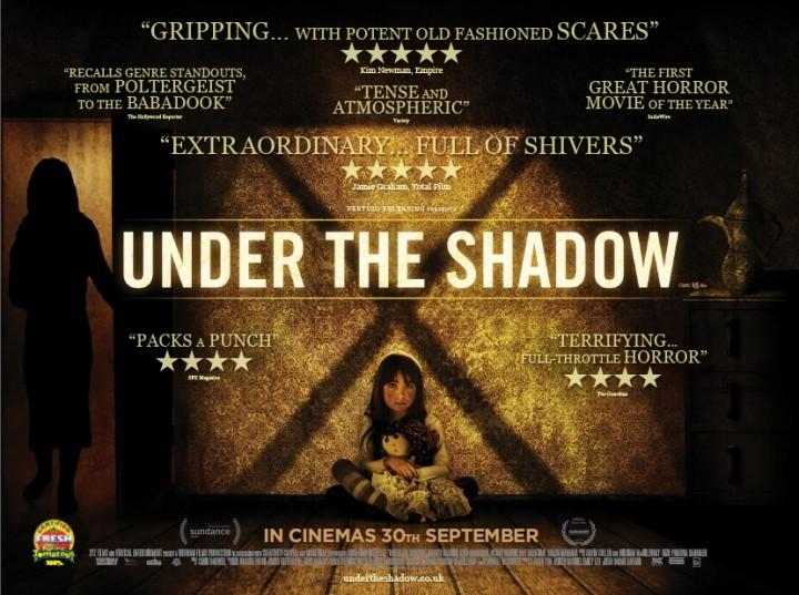 Στη σκιά του φόβου (Under the Shadow) Wallpaper