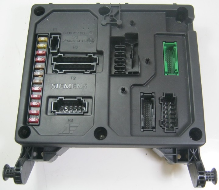 ygh2 vw sharan seat alhambra central fuse box relay control unit ecu vw sharan fuse box location at n-0.co