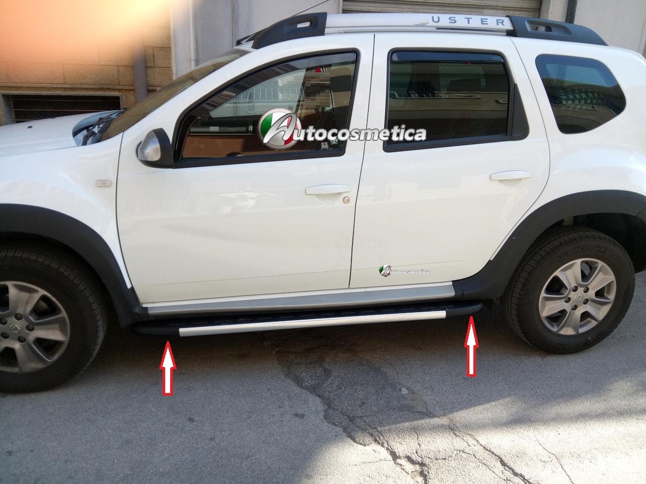 Pedane sottoporta laterali in alluminio abs dacia duster - Paraspifferi sottoporta automatico ...