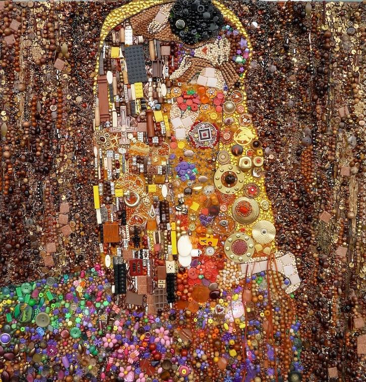Le Baiser (Klimt) / Jane Perkins