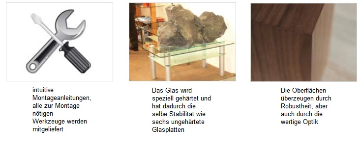 moderner Crashglas Couchtisch Wohnzimmertisch gecrashtes Glas Tisch 120cm Chr -> Couchtisch Glas Crashglas