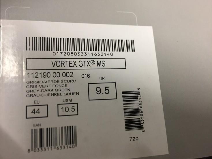 0548e5cf76e3d SCARPE SCARPONI UOMO TECNICA ORIGINALE VORTEX GTX 112190 PELLE SHOES ...