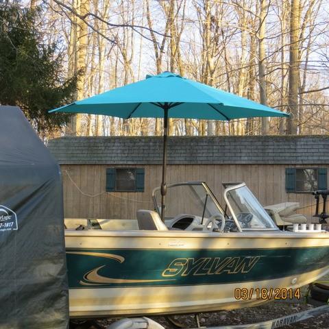 New rain umbrella for boat pa fishing friends for Boat umbrellas fishing
