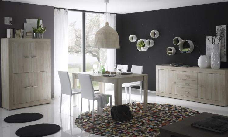 Madia mobile soggiorno moderno rustica credenza moderna for Mobile sala design