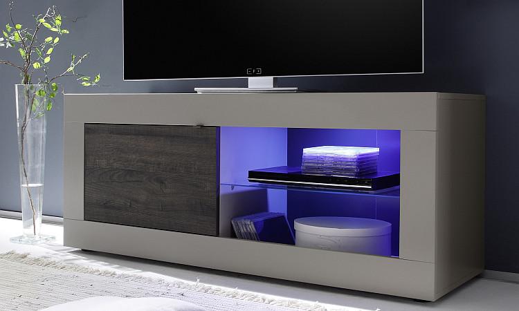 Porta tv moderno square a21 portatv mobile moderno soggiorno scelta fra 3 colori - Mobili porta tv in vetro ...
