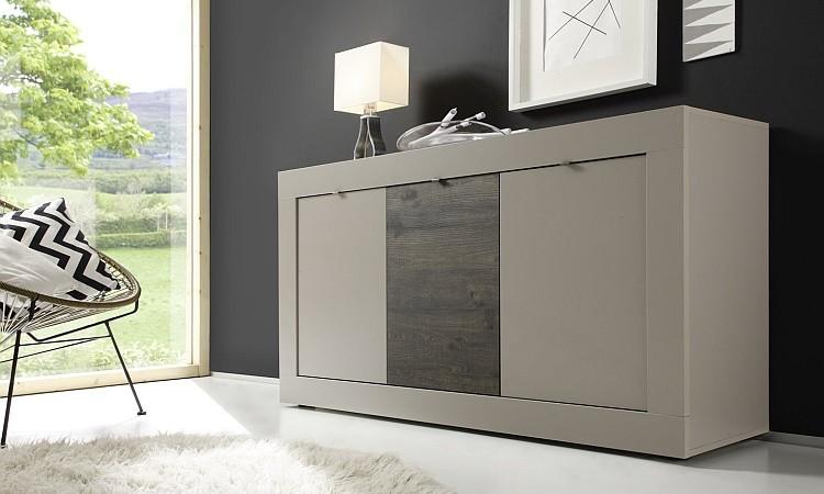 Madia moderna square m2 mobile moderno credenza moderna for Mobile da soggiorno moderno