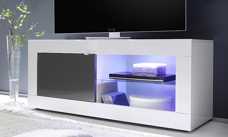 Porta tv moderno square a21 portatv mobile moderno soggiorno scelta fra 3 colori - Mobile porta liquori moderno ...