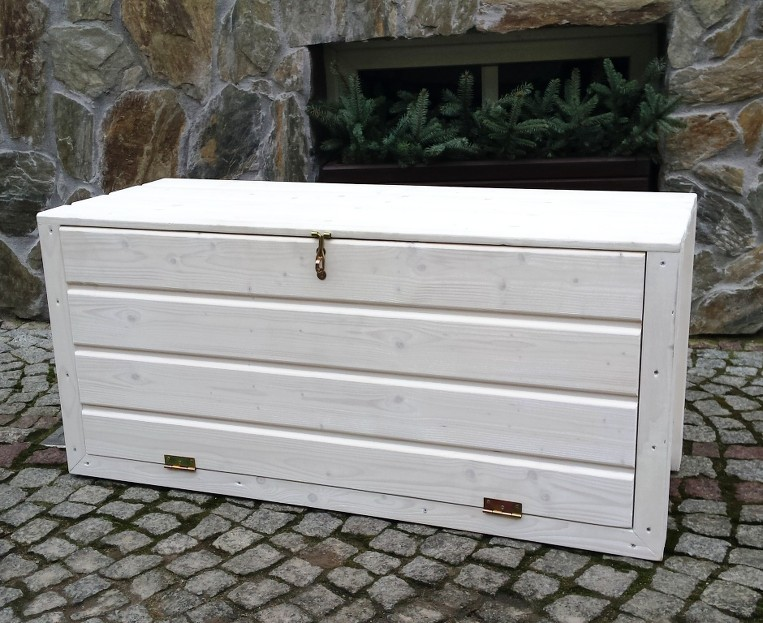 holztruhe gartentruhe schrank truhe auflagenbox kissenbox gartenbox box auflagen ebay. Black Bedroom Furniture Sets. Home Design Ideas
