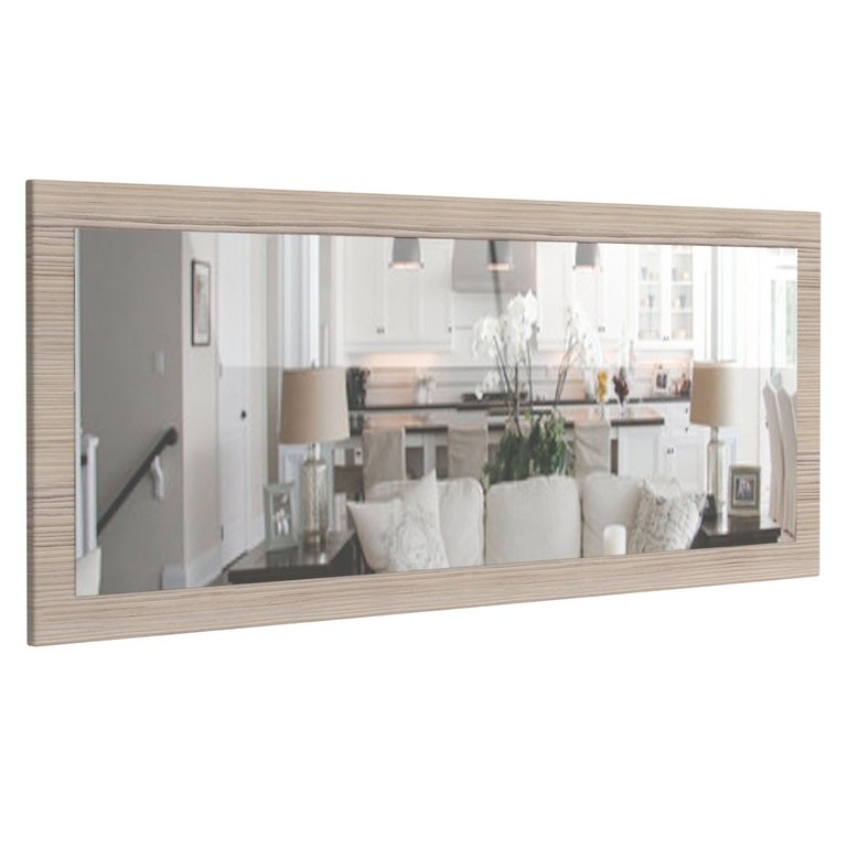 A139 quasimodo specchio moderno design 13 colori cm 139x55x2 - Colori a specchio ...