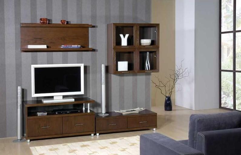 Parete soggiorno aramis,mobile moderno, porta tv in legno ...