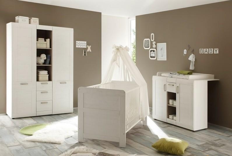 Cameretta moderna per bambini alexis camerette legno bianco armadio fasciatoio ebay - Armadio camera bambini ...