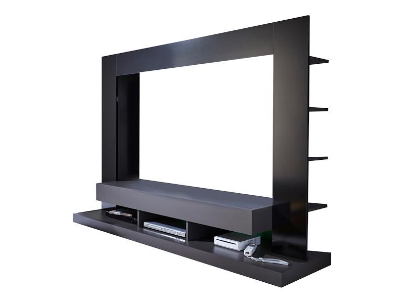 Parete porta tv moderna ring, soggiorno design con led, mobile ...