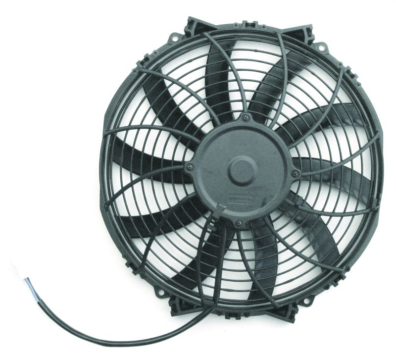 S-Blade  Electric Fan  12 Inch  1155 CFM  Standard Connectors With Pigtail
