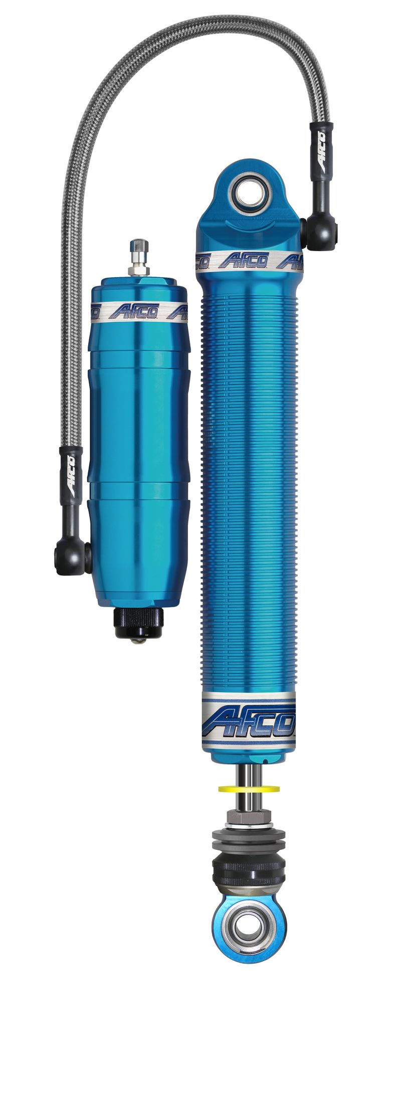 Aluminum Canister Double Adjustable Blue Shock 4 Inch