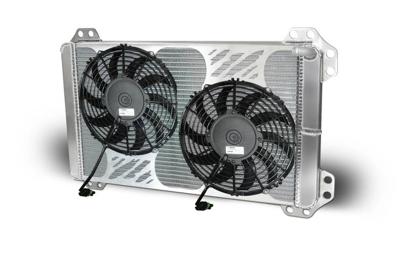 Heat Exchanger 2010 & Up Ford Raptor/F150  With Fans