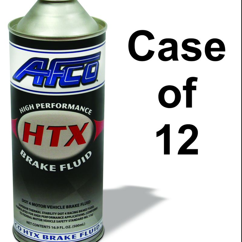Brake Fluid Ultra HTX Case Of 12 - 16.9 Oz. Steel Cans