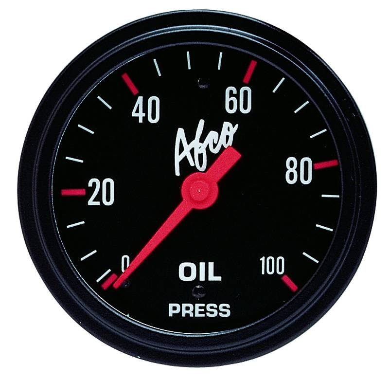 "100 Psi Oil Pressure Gauge 2 5/8"" O.D."