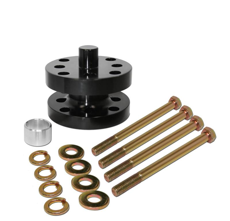Aluminum  Fan Spacer Kit  1-1/2 Inch  Fits 5/8 Or 3/4 Drive  Comes With Bolts, Bushings, & Washers