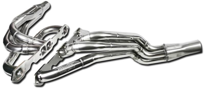 Header Set 604 Crate Chevy  1.625 - 1.75 Inch  3.00 Inch Collector  304 Stainless  Steel
