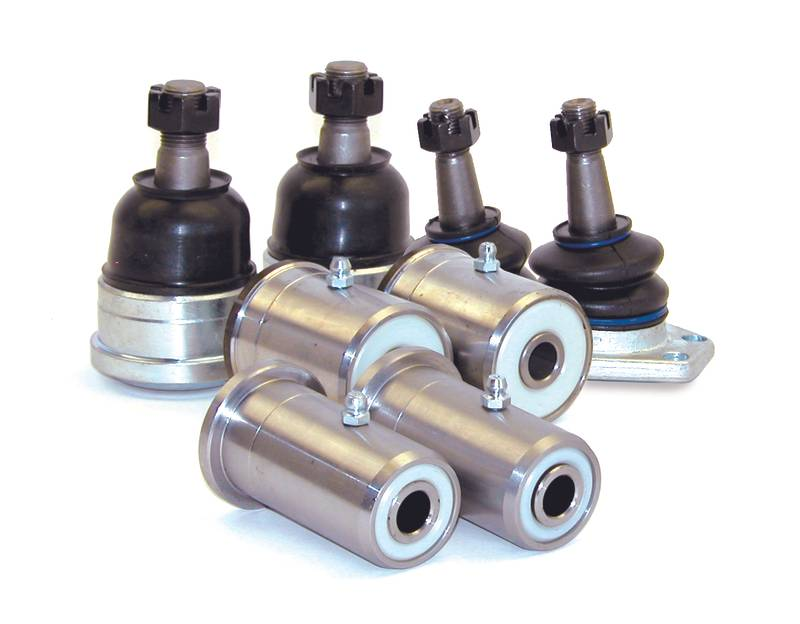Low Friction  Suspension Kit  Modified  Ball Joints And Arm Bushings  67-72 Chevelle  (Ext. Lower Ball Joint)