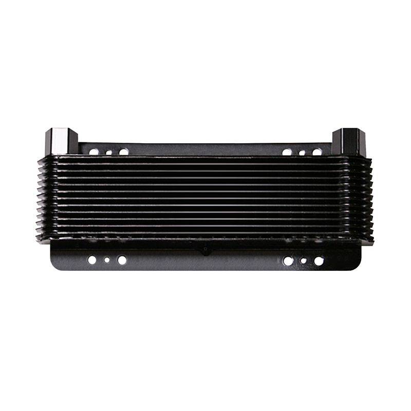 Oil Cooler, 5-3/4 x 11 x 1-1/2 Inch, 24-PaSS Stacked Plate