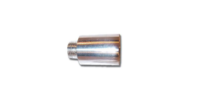Aluminum   1 Inch Shock Extension  9/16 Inch Thread  Big Body