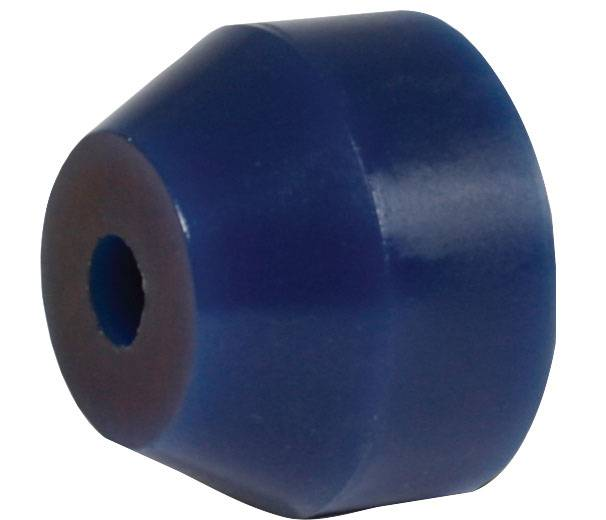 "3-3/8"" O.D. Blue 80 Durometer Bushing Two Stage Torque Link"