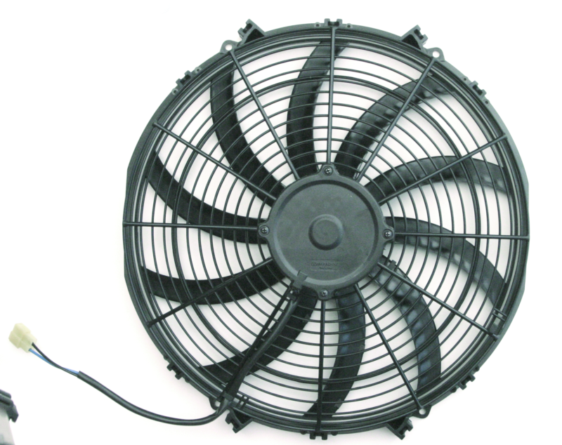S-Blade  Electric Fan  14 Inch  1555 CFM  Standard Connectors With Pigtail