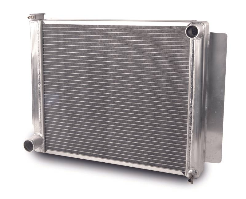 Aluminum Radiator Drag/Performance 21.5 Inch Single Pass Mopar
