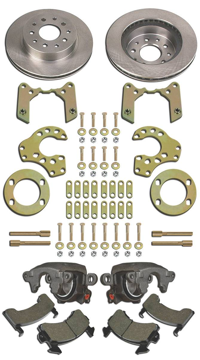 Bolt-On Axle Brake Kit - 9 Inch Ford