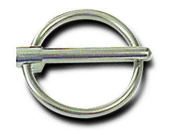 Steel Hood Pin Flip Clip 3/16 Inch Wire Diameter