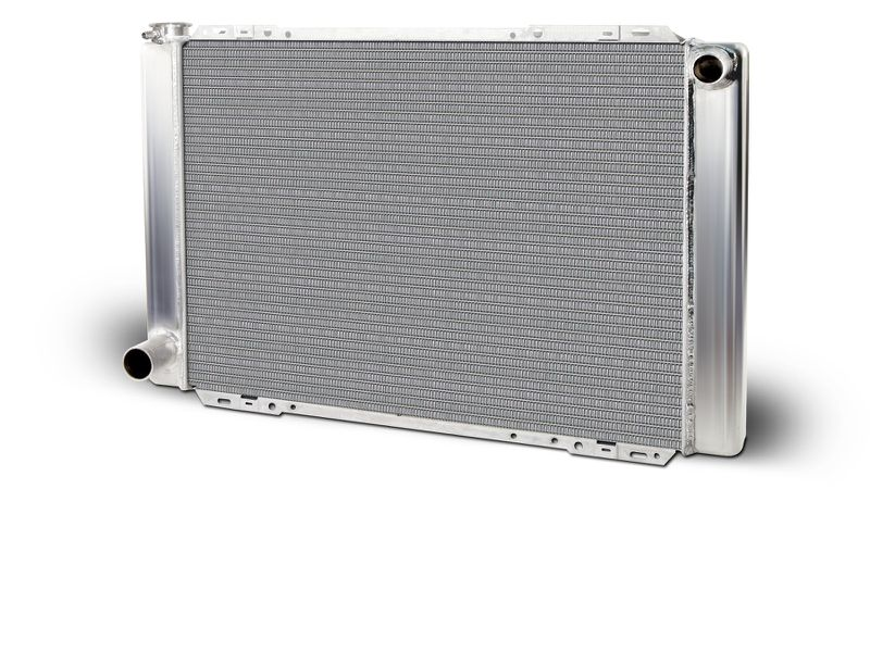 Aluminum  Radiator  Mustang Drag    Single Pass  Big & Small Block Ford