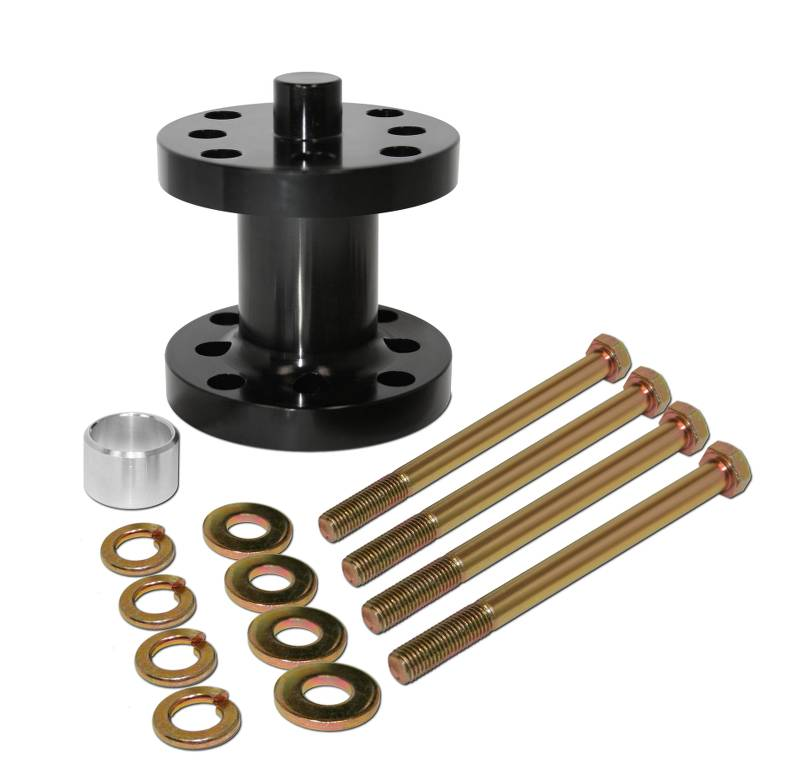 Aluminum  Fan Spacer Kit  2-1/2 Inch  Fits 5/8 Or 3/4 Drive  Comes With Bolts, Bushings, & Washers