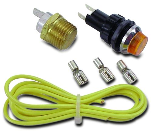 230 Water Temperature Warning Light Kit