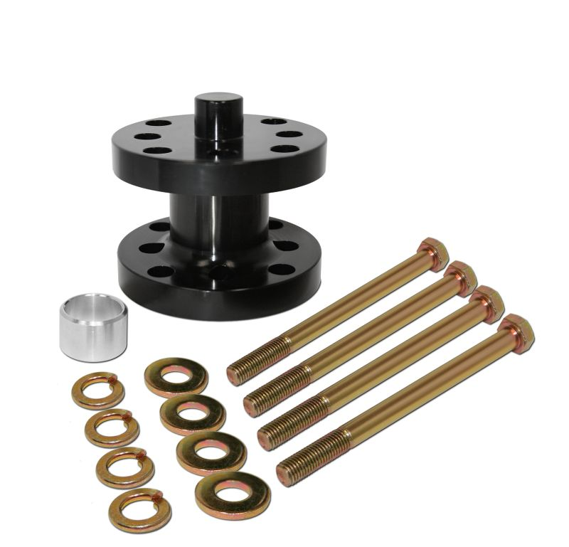 Aluminum  Fan Spacer Kit  2 Inch  Fits 5/8 Or 3/4 Drive  Comes With Bolts, Bushings, & Washers
