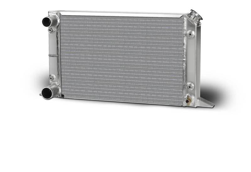 Aluminum  Radiator  Sirocco  Left Hand  Double Pass  1-1/2 Inlet  1-3/4 Outlet
