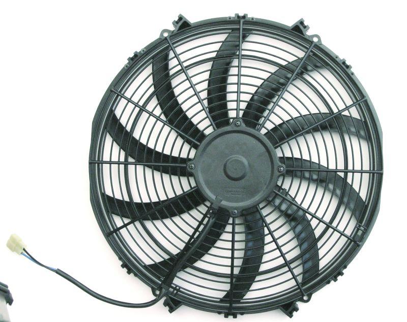 Spal S-Blade  Electric Fan  10 Inch  802 CFM  Weatherpack Connectors With Pigtail