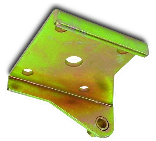 Steel Lower Leaf Spring Plate Coil-Over Style Left Hand
